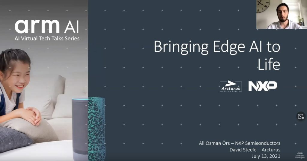 Arm AI Tech Talk - Bringing Edge AI to Life