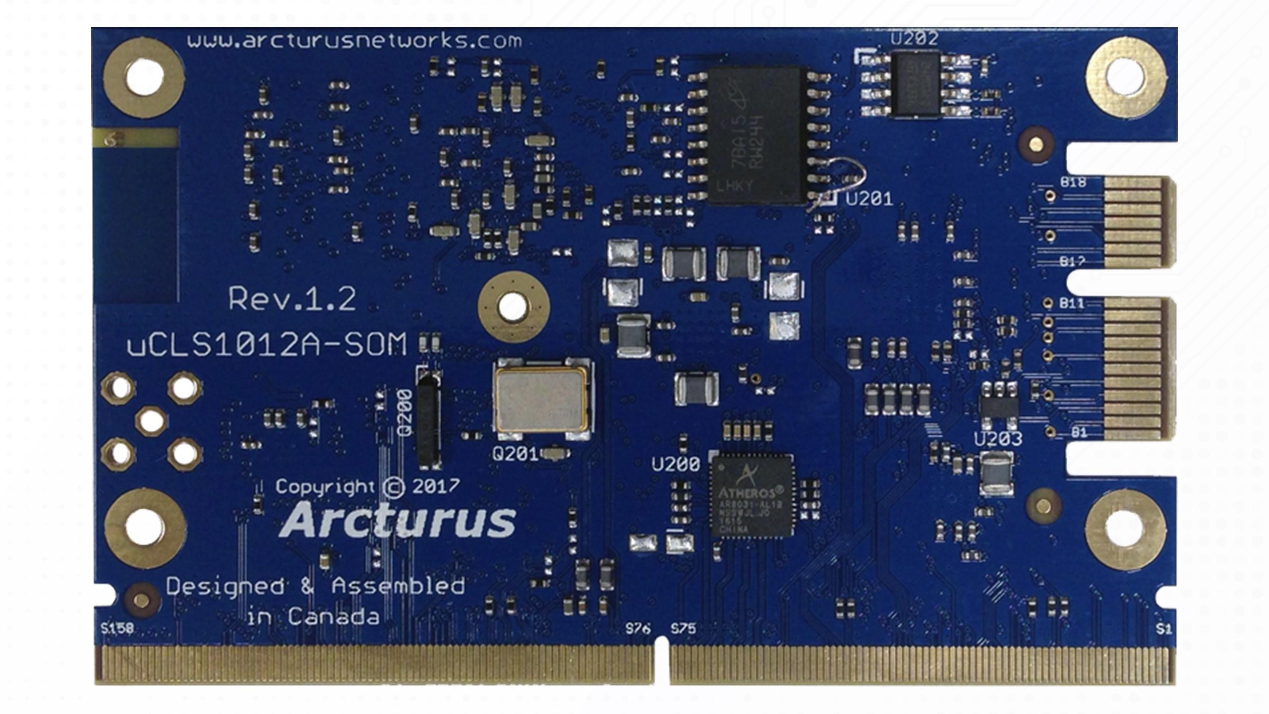 uCLS1012A-IoT Module Bottom
