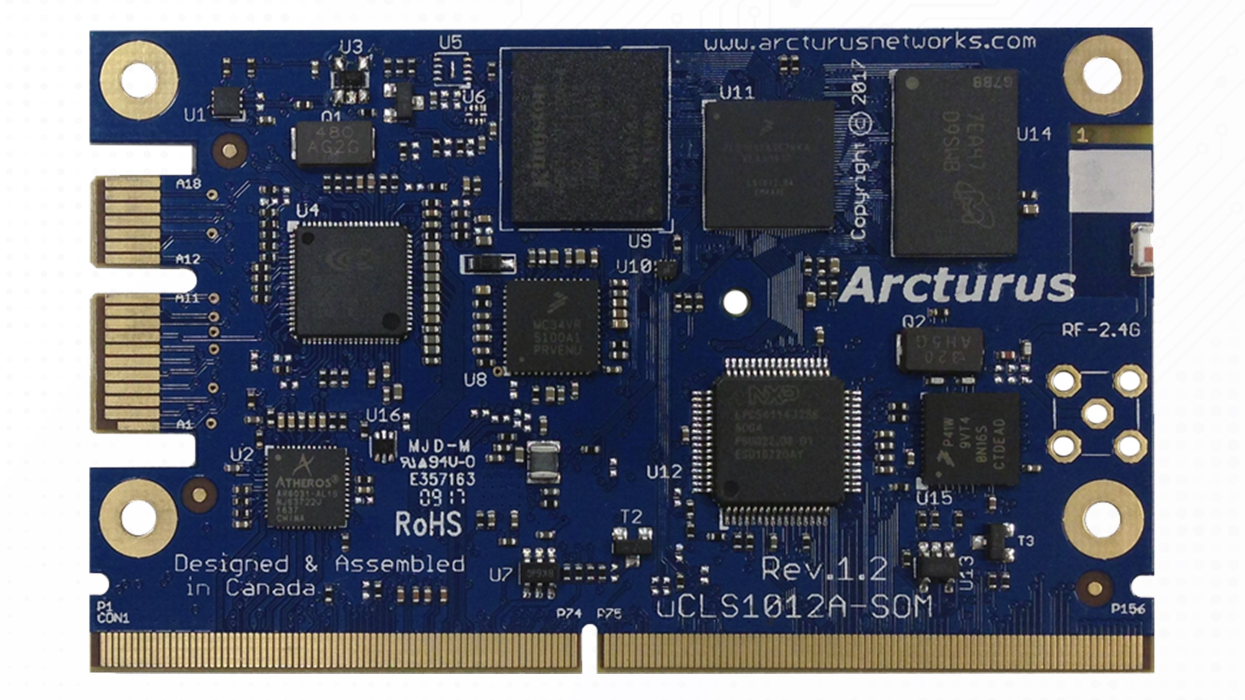 uCLS1012A-IoT Module Top