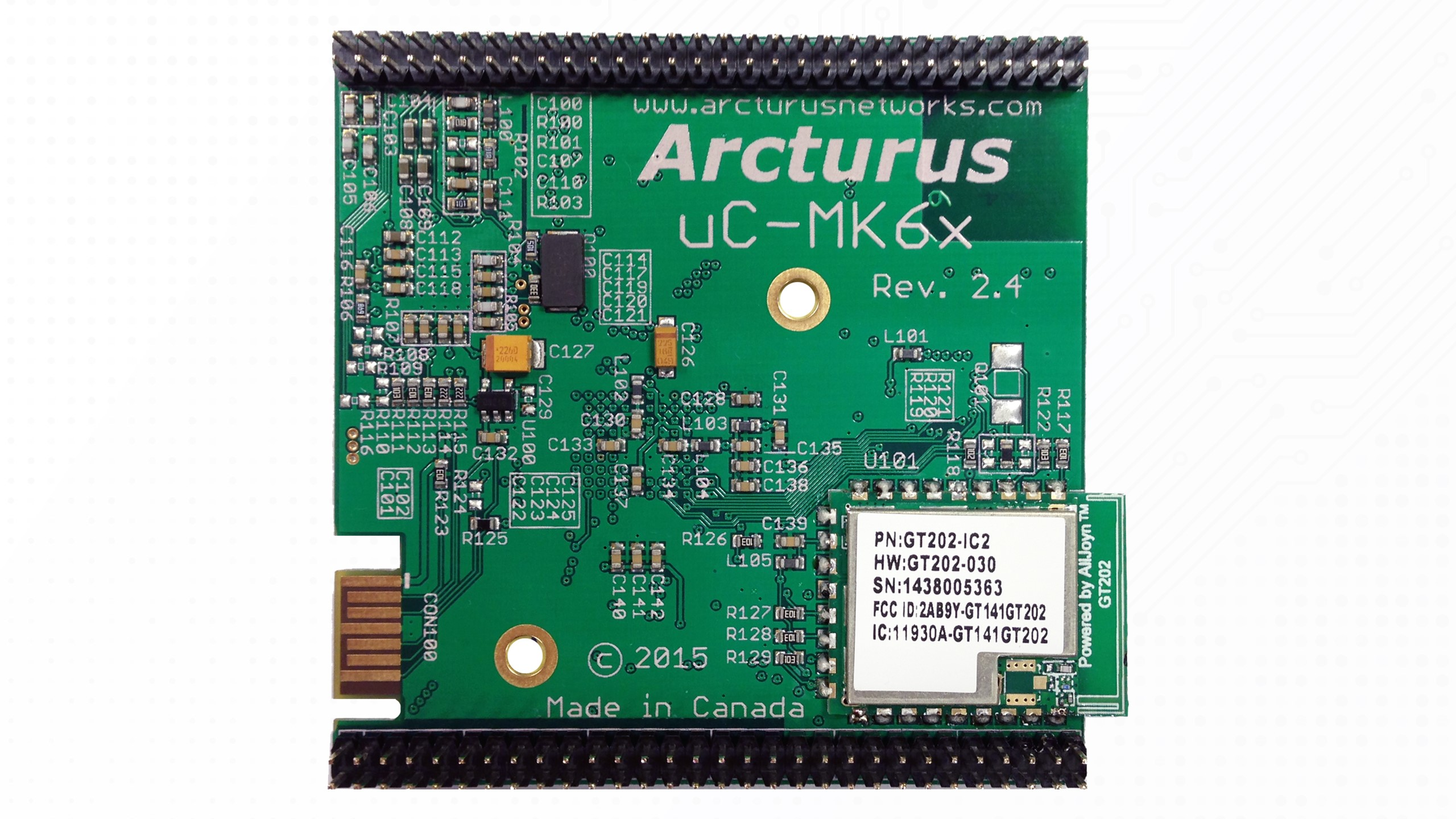 uCMK64-IoT Module Bottom