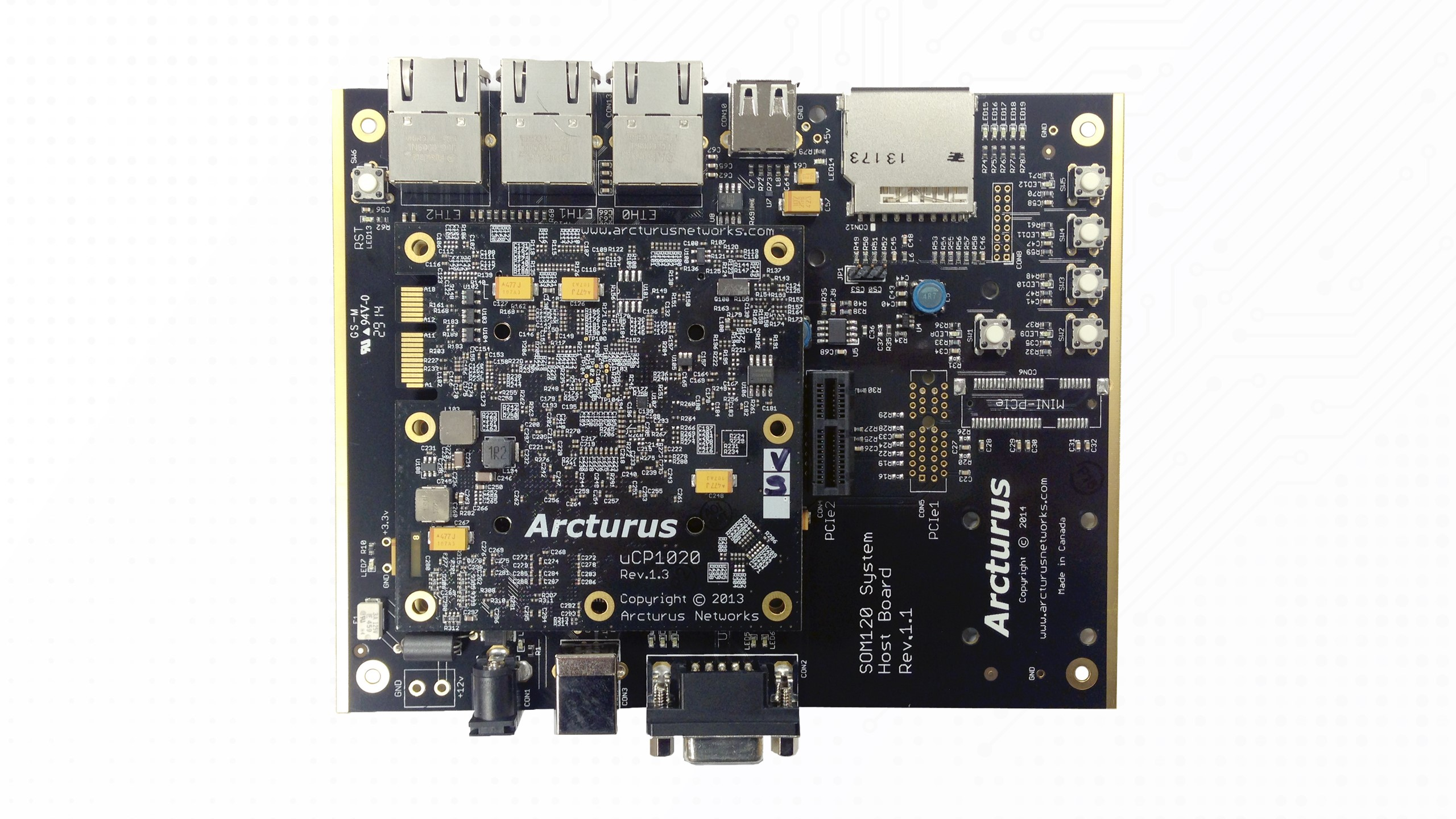 uCP1020 Module and Hostboard